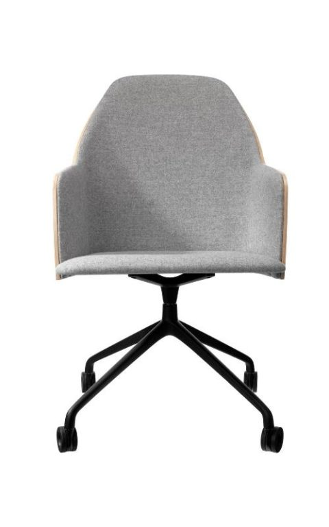 MSM Konferenzstuhl FF9 schwarz grau