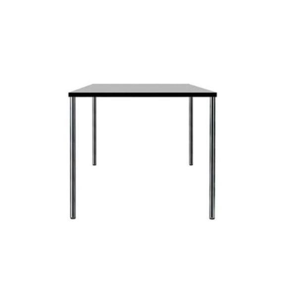 MSM Tisch 205 Gestell Chrom, Tischplatte weiß