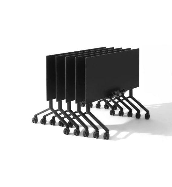 MSM Tisch Modell 222 schwarz geklappt