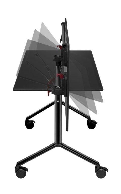 MSM Tisch Modell 222 schwarz klappbar
