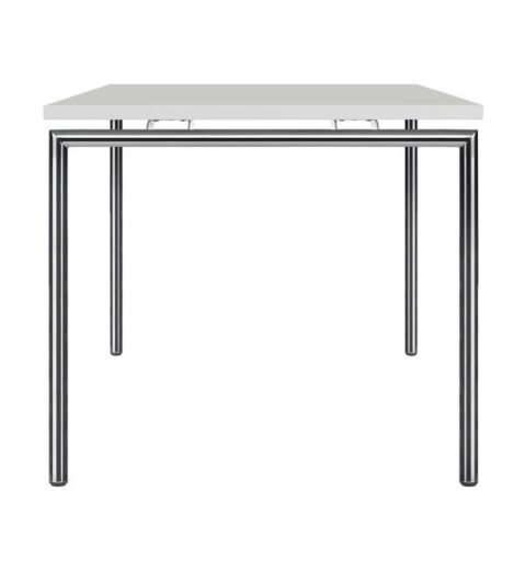 MSM Tisch 224 Gestell weiß, Tischplatte weiß