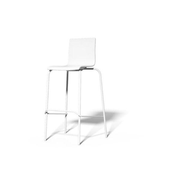 MSM Barhocker Modell 3352 bar weiß