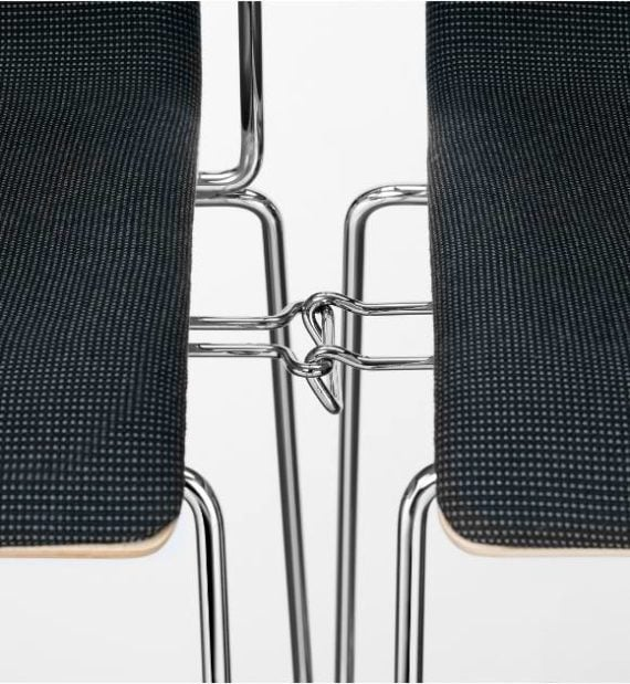 MSM Stuhl 3311 Gestell-Verkettung im Detail