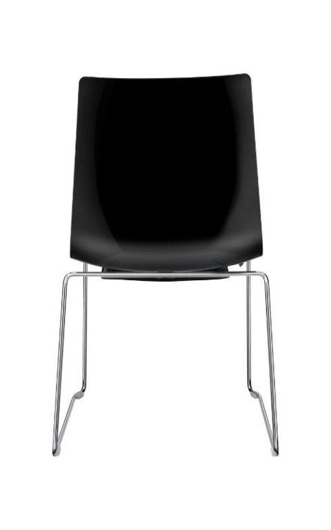 MSM Stapelstuhl Classic Modell 3314 PP schwarz