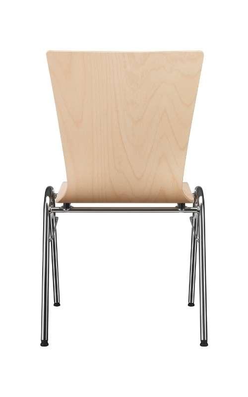 MSM Stapelstuhl Serie 3200 und Sitzschale aus Holz