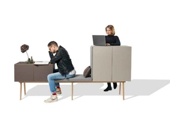 MSM modulares Sideboard Heinrich in Benutzung durch zwei Personen