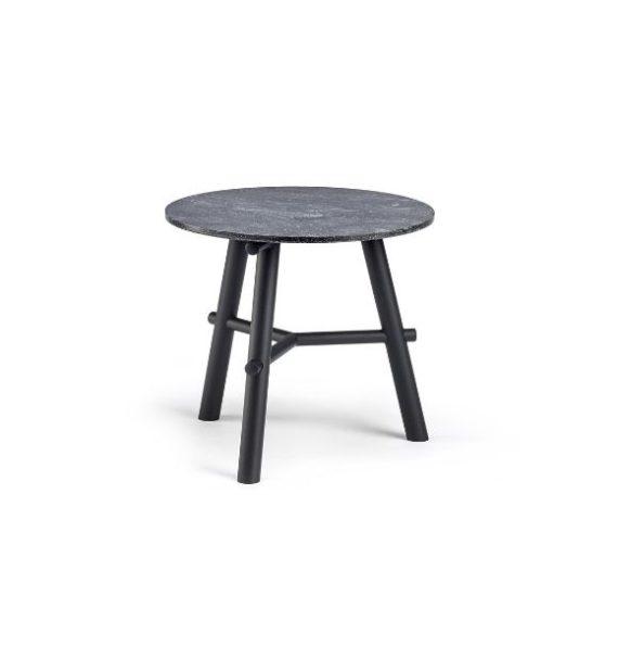 MSM Tisch Otto, Beistelltisch, Gestell schwarz, Tischplatte rund