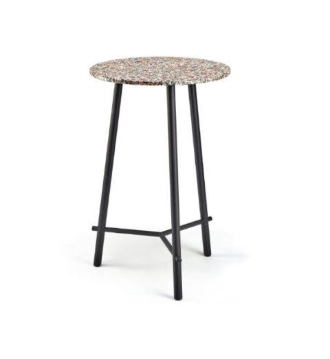 MSM Stehtisch Otto, Bistrotisch, Gestell schwarz, Tischplatte rund